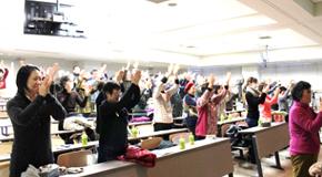 地域協働センター主催・眞鍋教授による公開講座『今日も元気だ!~生きてるだけで丸儲けの科学~』第4回目を開催しました。