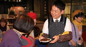 守口キャンパスのカフェを会場に初の市民向けイベント「コーヒー講座」を開催