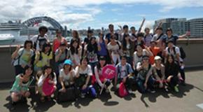 平成26年度春期海外研修 海外チャレンジ研修<br />(オーストラリア・シドニー)