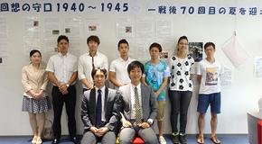 7月11日(土)「回想の守口」にて、本学学生によるギャラリートーク開催。