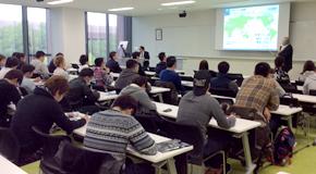 組織行動論の特別講義・産学連携講座を開催