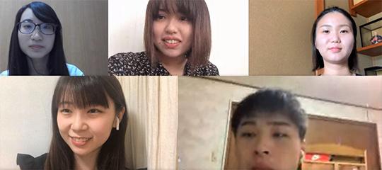 木下佳代子講師の2年次セミナー学生たち(一部)